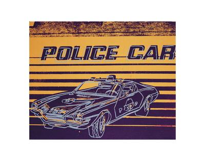 Police Car, 1983 Lámina por Andy Warhol