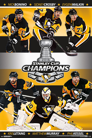 2016 Stanley Cup- Champs Póster
