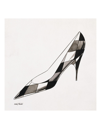 Untitled (High Heel), c. 1958 Posters by Andy Warhol