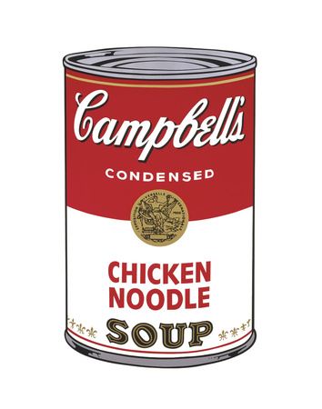 Campbell's Soup I: Chicken Noodle, 1968 Stampe di Andy Warhol