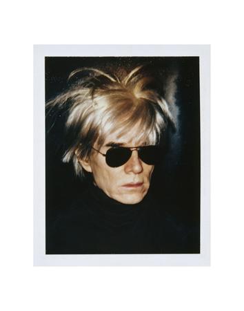 Self-Portrait in Fright Wig, 1986 Art by Andy Warhol