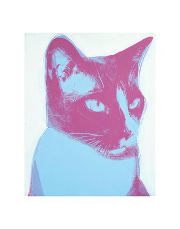 Cat, 1976 Stampe di Andy Warhol