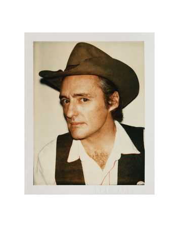 Dennis Hopper, 1977 Poster by Andy Warhol