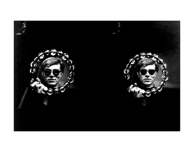 Double Tambourine, circa 1966 Print by Andy Warhol/ Nat Finkelstein