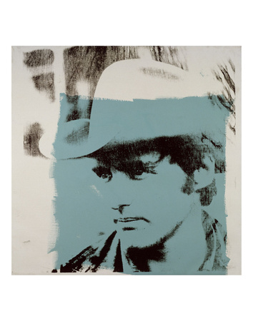 Dennis Hopper, 1970 Print by Andy Warhol
