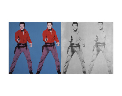 Elvis I and II, 1963-1964 Stampe di Andy Warhol