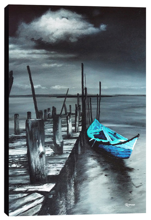 Retired Stretched Canvas Print by Michael Romero