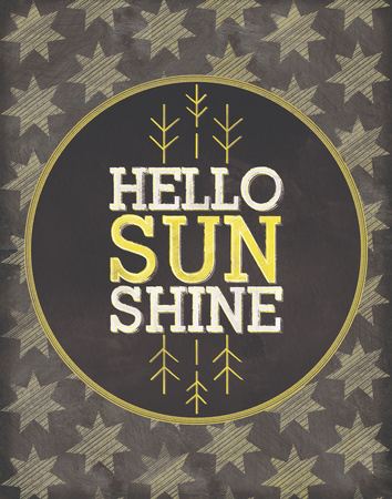 Hello Sunshine Posters by Sta Teresa Ashley