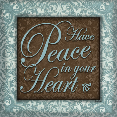 Have Peace Prints by Williams Todd