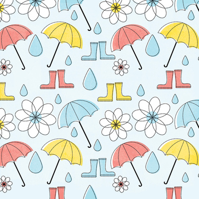In the Rain III Prints by Steve Mack