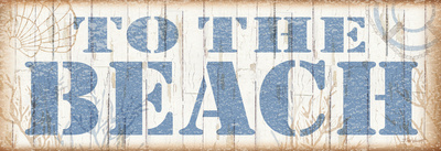 To the Beach Prints by Todd Williams