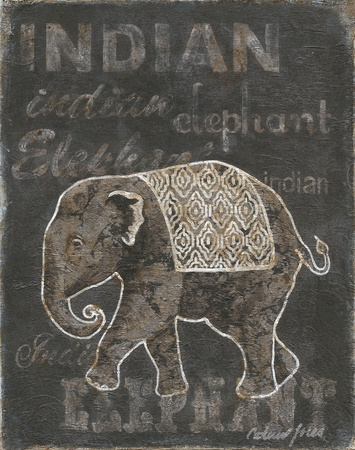Indian Poster by Catherine Jones
