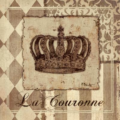 Provincial Crown Sq Prints by Paul Brent