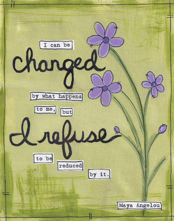 I Can Be Changed Posters by Monica Martin