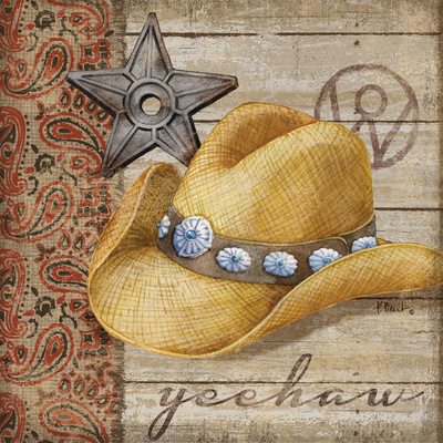 Wild West Hats IV Prints by Paul Brent