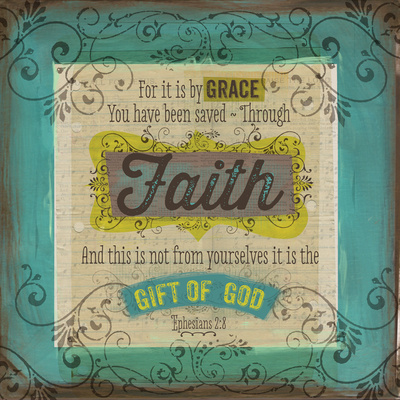 Scrapbook Faith Poster by Bethany Berndt