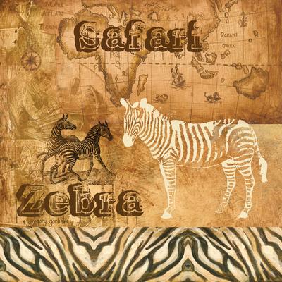 Safari Zebra Prints by Gregory Gorham
