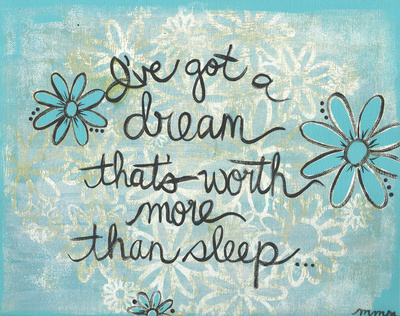 I've Got A Dream Prints by Martin Monica