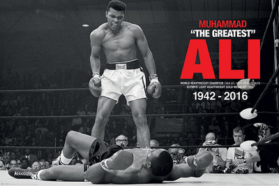 Muhammad Ali- Liston Knockdown Commemorative Bilder