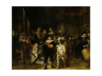 Militia Company of District II Print by  Rembrandt van Rijn
