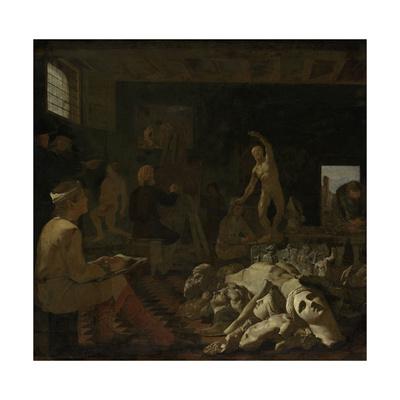 A Painters Studio, Michael Sweerts Prints by Michael Sweerts