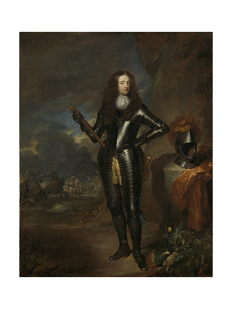William III, Prince of Orange and Since, King of England Poster by Caspar Netscher