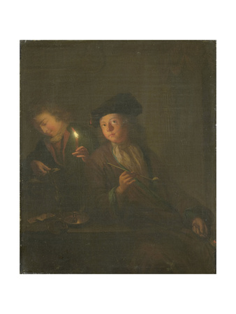 Young Smoker Posters by Godfried Schalcken