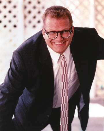 Drew Carey smiling in Coat Portrait Photo by  Movie Star News