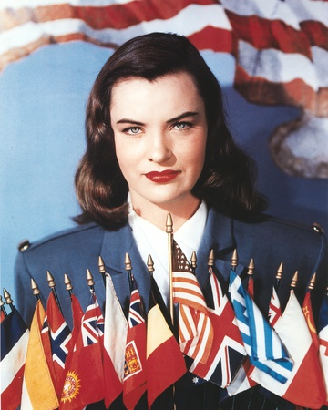 Ella Raines in Formal Outfit Portrait Photo by  Movie Star News