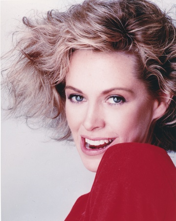 Catherine Hicks in Red Blouse Photo by  Movie Star News