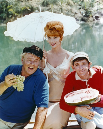 Gilligan's Island Posed Holding Fruits Photo by  Movie Star News!