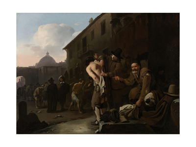 Clothing the Naked, Michael Sweerts Posters by Michael Sweerts