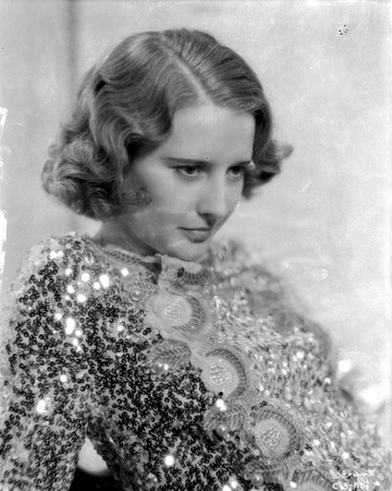 A portrait of Barbara Stanwyck. Photo by  Movie Star News