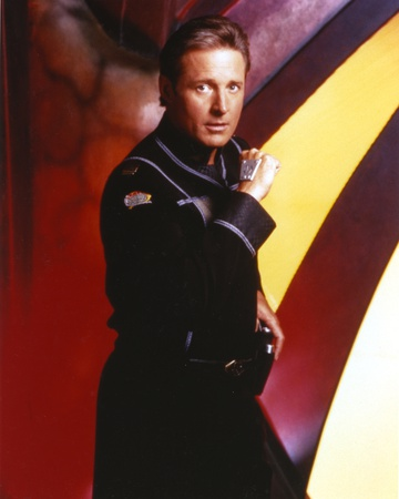 Bruce Boxleitner wearing a Black Suit Photo by  Movie Star News