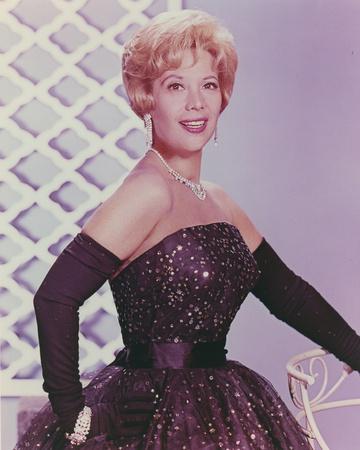 Dinah Shore in Black Dress Portrait Photo by  Movie Star News