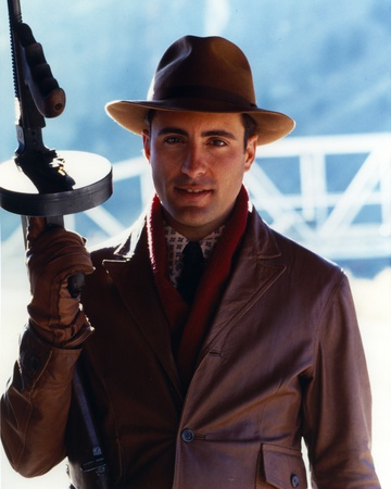 Andy Garcia Holding a Rifle Photo by  Movie Star News