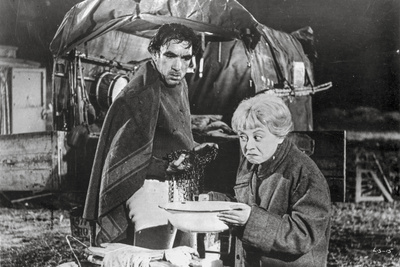 La Strada as Gelsomina and Zampano Scene Photo by  Movie Star News