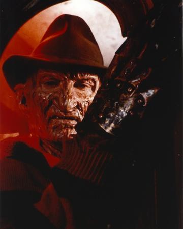Nightmare On Elm Street Freddy Posed in Stripes Long Sleeve Shirt Photo by  Movie Star News
