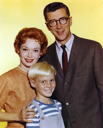 Dennis The Menace Family Portrait in Yellow Background Photo by  Movie Star News