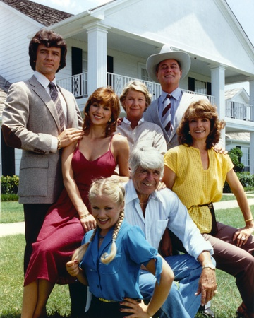 Classic Group Picture with Dallas Photo by  Movie Star News