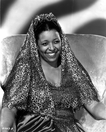 Ethel Waters Seated in Classic Photo by  Movie Star News