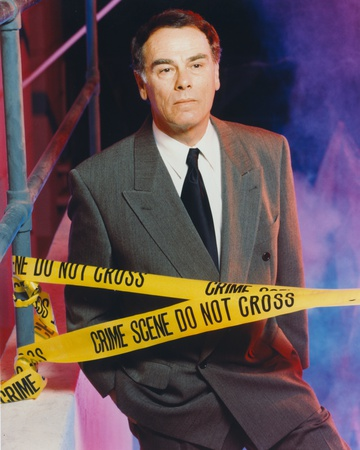 Dean Stockwell Posed in Police Line Portrait Photo by  Movie Star News