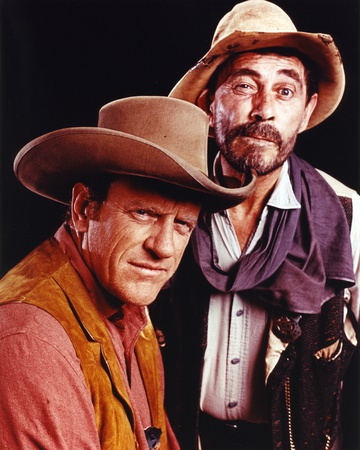 Gunsmoke Two Cowboy Outfit Portrait Photo by  Movie Star News