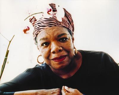 Maya Angelou  1c - Photograph Hollywood Print Photo by  Movie Star News