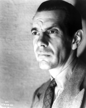 Raymond Massey Posed in Classic Photo by  Movie Star News