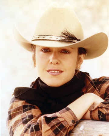 Pam Dawber in Cowboy Outfit Close Up Portrait Photo by  Movie Star News