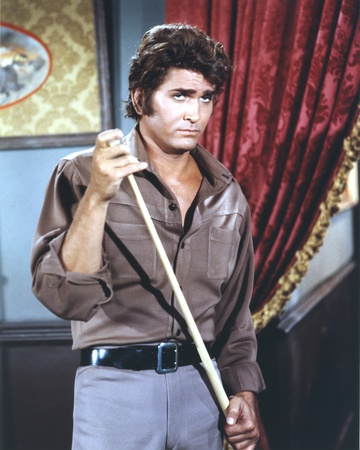 Michael Landon Playing Billiards Photo by  Movie Star News