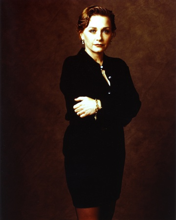 Patti D'arbanville Arms Crossed in Black Background Portrait Photo by  Movie Star News