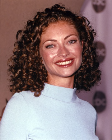 Rebecca Gayheart in a Turtle Neck Top Photo by  Movie Star News