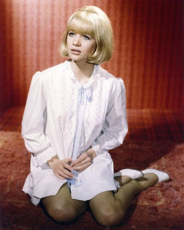 Judy Geeson wearing in a Shirtdress in a Portrait Photo by  Movie Star News